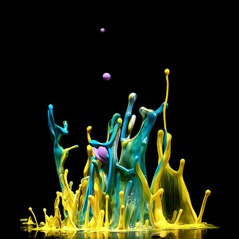 Liquid Sculptures by Markus Reugels | Professional Photography Blog | Digital Photo Addicts | Scoop.it