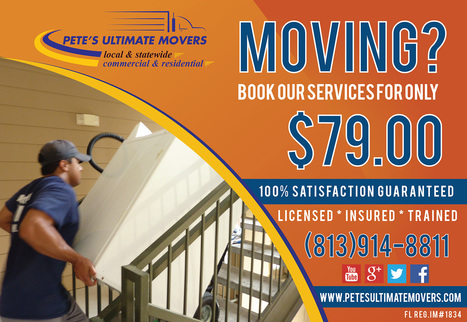 Moving Company - Professional Movers & Packers in Tampa, FL | Petes Ultimate Movers | Scoop.it