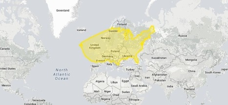 "Eye-Opening ""True Size Map"" Shows the Real Size of Countries on a Global Scale 