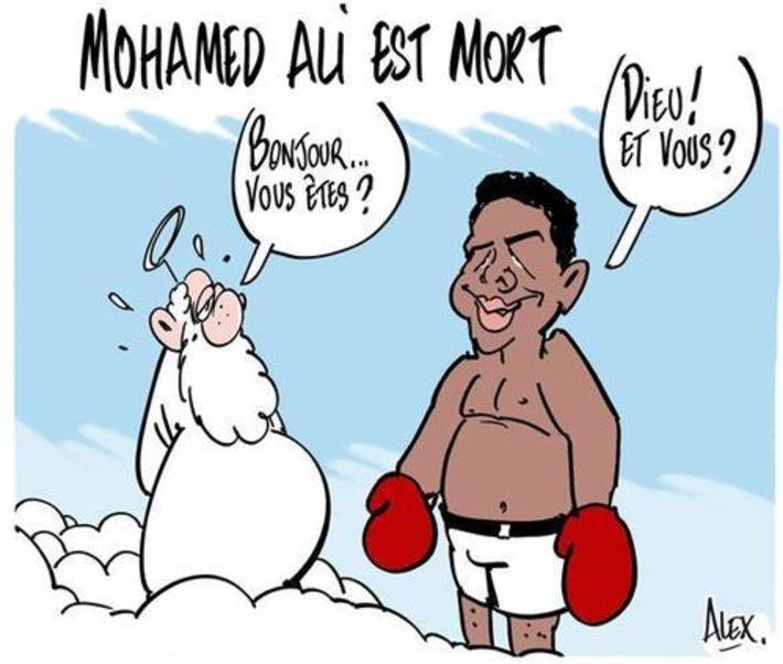 Mohamed Ali est mort | Baie d'humour | Scoop.it