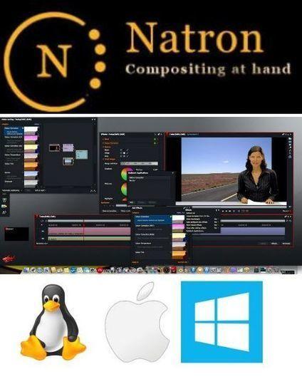 Natron 2015 Logiciel professionnel gratuit Compositing vidéo Production cinématographique et télévisuelle | Logiciel Gratuit Licence Gratuite | Scoop.it