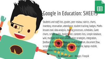 Techknowledgeschool: #Google apps for #education - #Sheets #edtech by @AndoniSanz   Blended Learning   Scoop.it