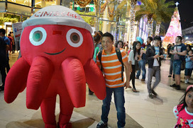 My Photo Collection: At Siam Paragon With CIMB Bank Mascot | Travel Hotspot In Thailand | Scoop.it