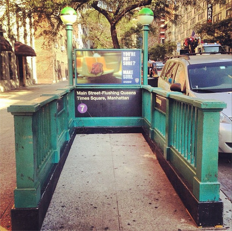 Daily What?! The 7 Line Subway Entrance to Nowhere in Manhattan | Exploration: Urban, Rural and Industrial | Scoop.it
