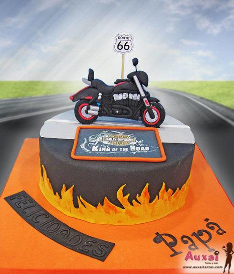 Tarta Harley Davidson | Auxai Tartas | Scoop.it