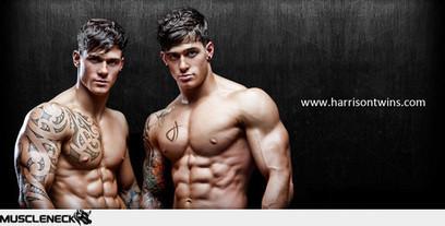 Cut and Shredded: Portfolio - Harrison Twins   Bodybuilding News   Scoop.it