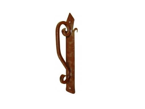 Large Curved Iron Door Handle | Home Decor | Scoop.it