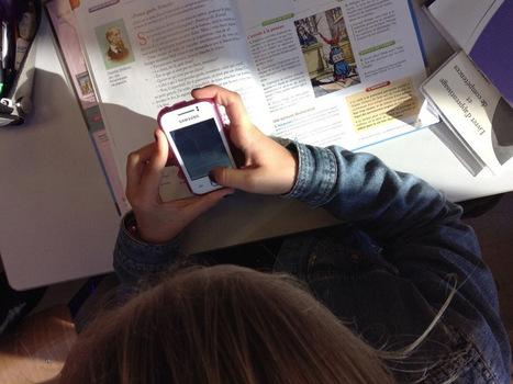 Pour quelles raisons j'autorise les élèves à utiliser en classe leur smartphone, ou iPod, ou éventuellement tablette   Identité numérique   Scoop.it