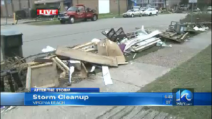 Oceanfront still recovering from tornado damage - WAVY-TV | Disaster Emergency Survival Readiness | Scoop.it