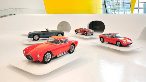 New Ferrari Museum Looks Like The Hood Of A Hot Car   Museums and Ethics   Scoop.it