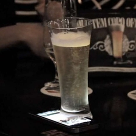 'Offline' Beer Glass Stops Antisocial Phone Use in Bars [VIDEO]   DV8 Digital Marketing Tips and Insight   Scoop.it