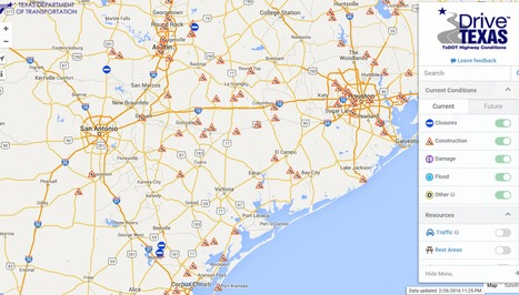 TxDOT launches traffic congestion info website | Texas Coast Living | Scoop.it