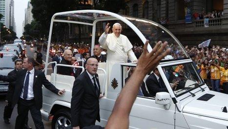 El Papa Francisco recorrió las calles de Río ante una multitud que lo ... - DiarioPopular.com.ar | Papa Francisco | Scoop.it