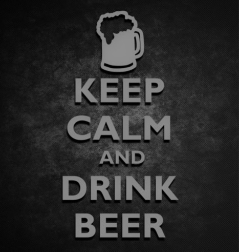 Keep Calm And Drink Beer Sticker | KCCO Stickers | Scoop.it