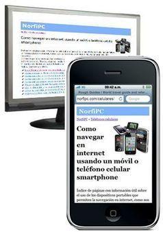Como hacer un sitio web compatible con celulares y otros dispositivos móviles   DESAROLLO DE SOFTWARE   Scoop.it