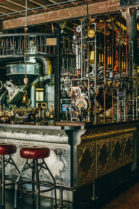 Step Inside 'Truth,' a Steampunk Coffee Shop in Cape Town, South Africa | VIM | Scoop.it