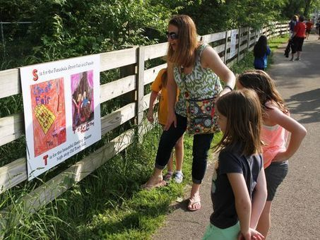 Local school, library unveil story trail at park  | Creativity in the School Library | Scoop.it