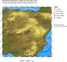 Earthquake, Magnitude 3.4 - SPAIN - 2013 November 05, 06:34:30 UTC | Madrid Trending Topics and Issues | Scoop.it