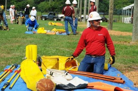 Local lineman to duke it out - Daily Commercial   Powerlineman   Scoop.it
