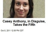 Casey Anthony, in Disguise, Takes the Fifth. 5th Amendment | Gov & Law- Kelsey Von Berge | Scoop.it