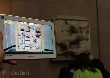 The British Museum and Samsung bring augmented reality to museum learning - Pocket-lint | Réalité augmentée | Scoop.it