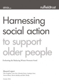 Harnessing social action to support older people | The Nuffield Trust | Social services news | Scoop.it