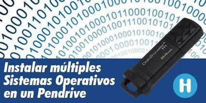 Como instalar varios sistemas operativos en un pendrive | Sistemas operativos en red | Scoop.it