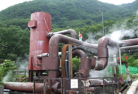 Géothermie à la nippone « Faites le plein d'avenir - Le webzine des ... | Géothermie : une énergie peu exploitée ! | Scoop.it