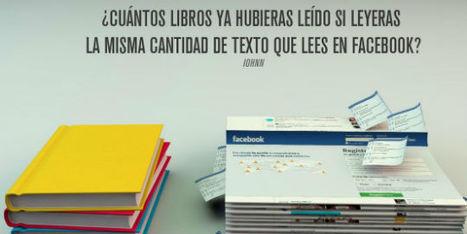 ¿Cuántos libros se leerían en vez de consultar tanto Facebook?   Bibliotecas   Scoop.it