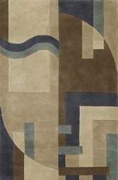 Rugsville Modern Styles Multi Wool 17100 Rug - MODERN | Modern and Contemporary Rugs | Scoop.it