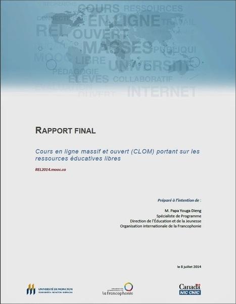 Compte rendu REL 2014 et recommandations - RÉL - Blogger | outils -- espaces OER REA REL OEREU | Scoop.it