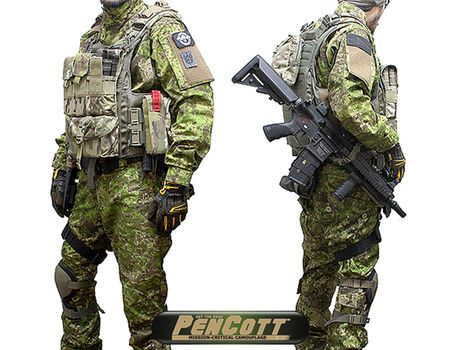 "RAG Industries ""PU"" In PenCott Camouflage - Popular Airsoft 