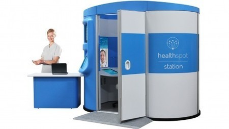 Healthspot replaces doctor's office with a telepresence kiosk | Longevity science | Scoop.it