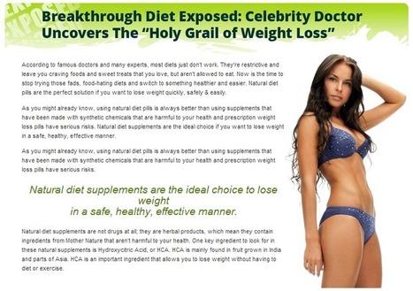 Pure Garcinia Cambogia Slim Review – Get a Healthy and Slim Body! | Robert Amato | Scoop.it