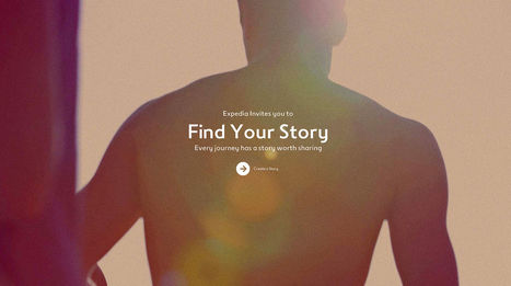 Expedia Encourages You to Find Your Story with New App | Transmedia Landscapes | Scoop.it