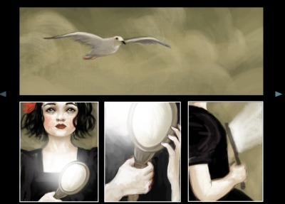"""She"" by meluseena on deviantART | Turbo Media, naissance d'un nouveau médium | Scoop.it"