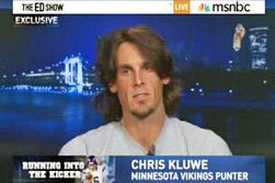 Kluwe: Rabidly homophobic Vikings fired me for being pro-gay | Daily Crew | Scoop.it