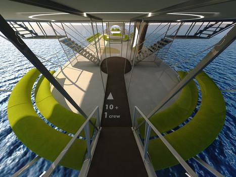 Le Flying-yacht - OCTURI - Design & Interior, Fictional aircraft, Light   ...SUR LE FUTUR   Scoop.it