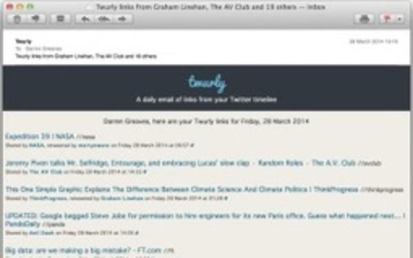 Twurly. Le meilleur de votre fil Twitter par mail | Curation, Veille et Outils | Scoop.it