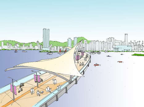 Hong Kong planning High Line-like elevated trails along the waterfront | Innovative & Sustainable Building | Scoop.it