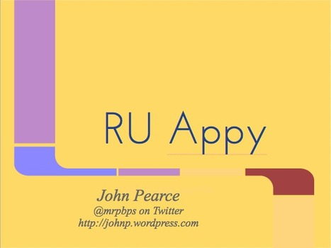 RU Appy - GoogleDrive | mrpbps iDevices | Scoop.it