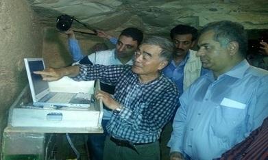 Radar test underway before search for Nefertiti in tomb of Tutankhamun - Ancient Egypt - Heritage - Ahram Online | Egiptología | Scoop.it