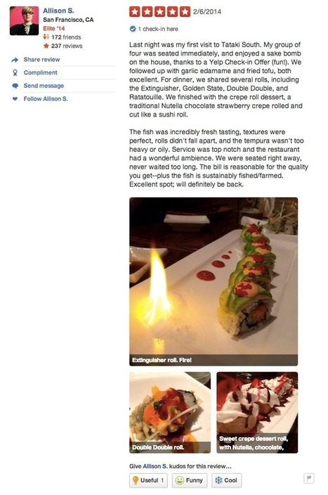 Yelp Official Blog: Yelp's New Interface in Your Face! | Restaurant MarketingTraffic Builders | Scoop.it