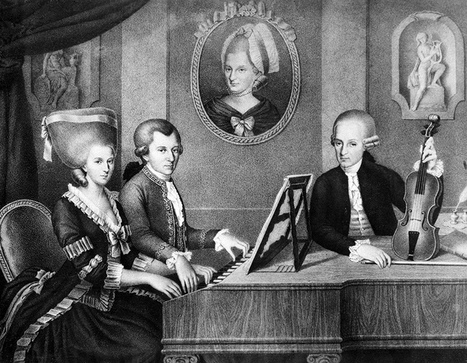 Lost Mozart-Salieri Composition Found in Prague | LUXUO | What about? What's up? Qué pasa? | Scoop.it