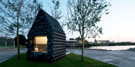 Amsterdam : Une cabane en bio-plastique imprimée en 3D au bord du canal   Médiathèque : un nouvel essor   Scoop.it
