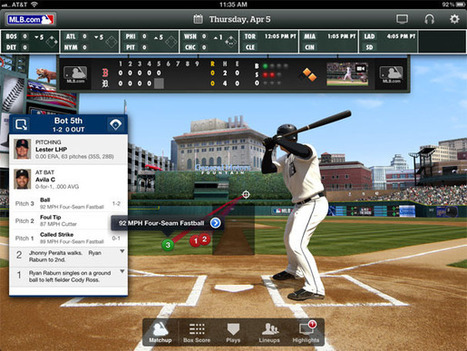 Batter Up: The best ways to watch baseball on your digital devices | Macworld | How to Use an iPhone Well | Scoop.it