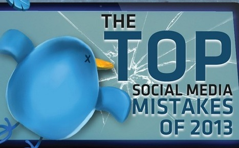 Visualistan: The Top Social Media Mistakes Of 2013 [Infographic] | Social Media | Scoop.it