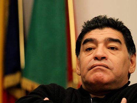 Diego Maradona, en exclusiva con FOX Sports | MUNDIAL 2014 | Scoop.it