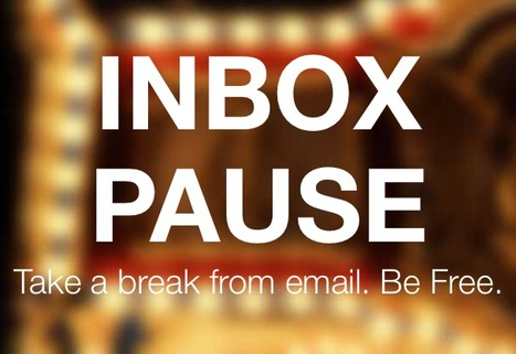 Finally, Someone Has Made A 'Pause' Button For Emails | Everything from Social Media to F1 to Photography to Anything Interesting | Scoop.it