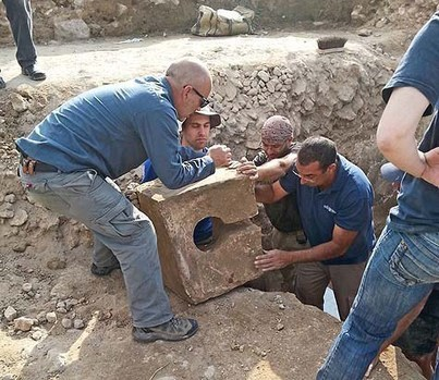 Large First Temple Period Gate-Shrine Excavated in Central Israel | Jewish Education Around the World | Scoop.it